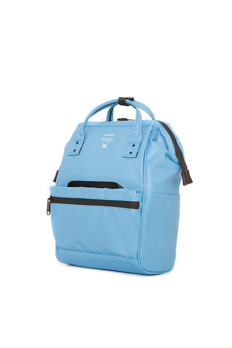 Anello Waterproof Oversea Edition Backpack Rucksack Mini Size OS-B010 Blue Japan Original Official Authentic Real Genuine Bag Free Shipping Worldwide Special Discount Low Prices Great Offer