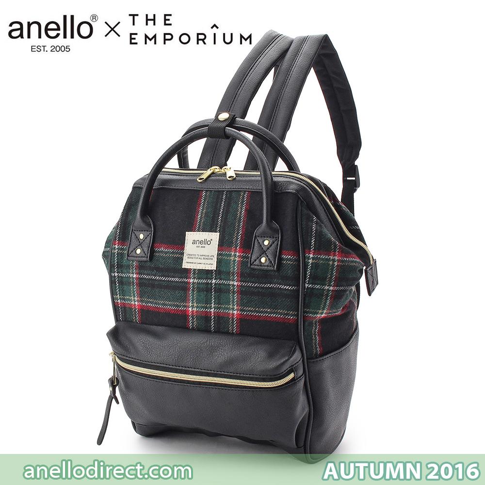 Anello X THE EMPORIUM Limited Autumn Edition 2016 Green Checkered a634723dfc5d4